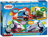 Thomas & Friends - Four In A Box Large Shaped Puzzles