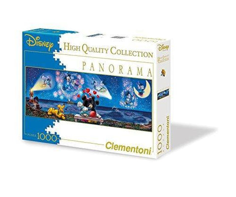 Clementoni Disney Mickey & Minnie 1000 Piece Panorama Jigsaw Puzzle 39287