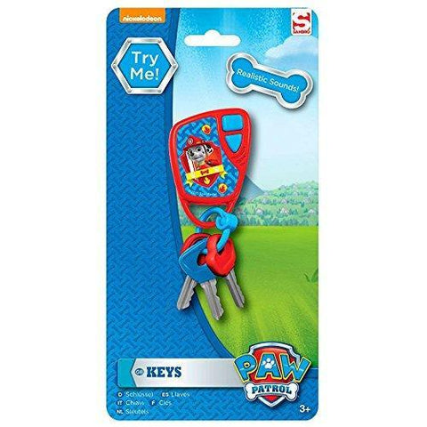 Paw Patrol Car Keys With Sound