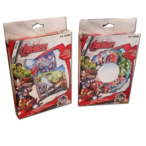 Marvel Avengers Armbands & Swimring Set 3-6 Years
