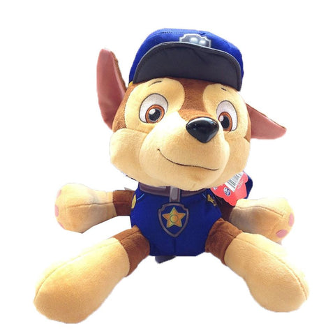 Paw Patrol Chase Childrens Soft Plush Backpack