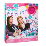 Pom Pom Wow Snap & Decorate Set
