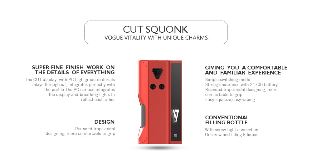 Desire Design Cut Squonk Box