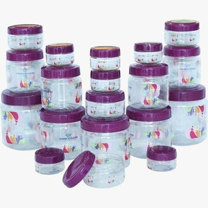 Elegant Kitchen Jar Set