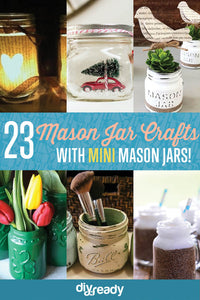 Mini mason jars are a crafter's best friend