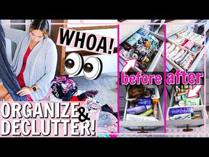 DECLUTTER AND ORGANIZE WITH ME 🤯eXtReMe! | Alexandra Beuter