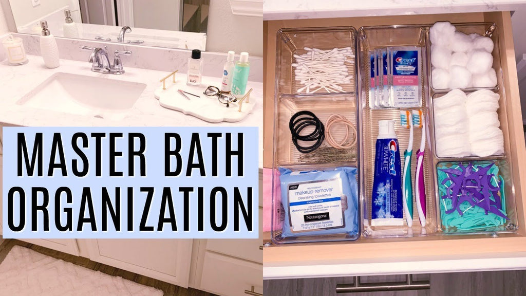 Master bathroom organization ideas! Deep clean and organize your bathroom with me! I'm so happy with how this space turned out! WHERE I GET MY MUSIC ...