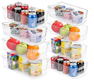Set of 8 Pantry/Fridge Organizers