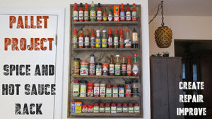 How to Make a Spice Rack From Recycled Pallet Wood by Chad Makes It (4 years ago)