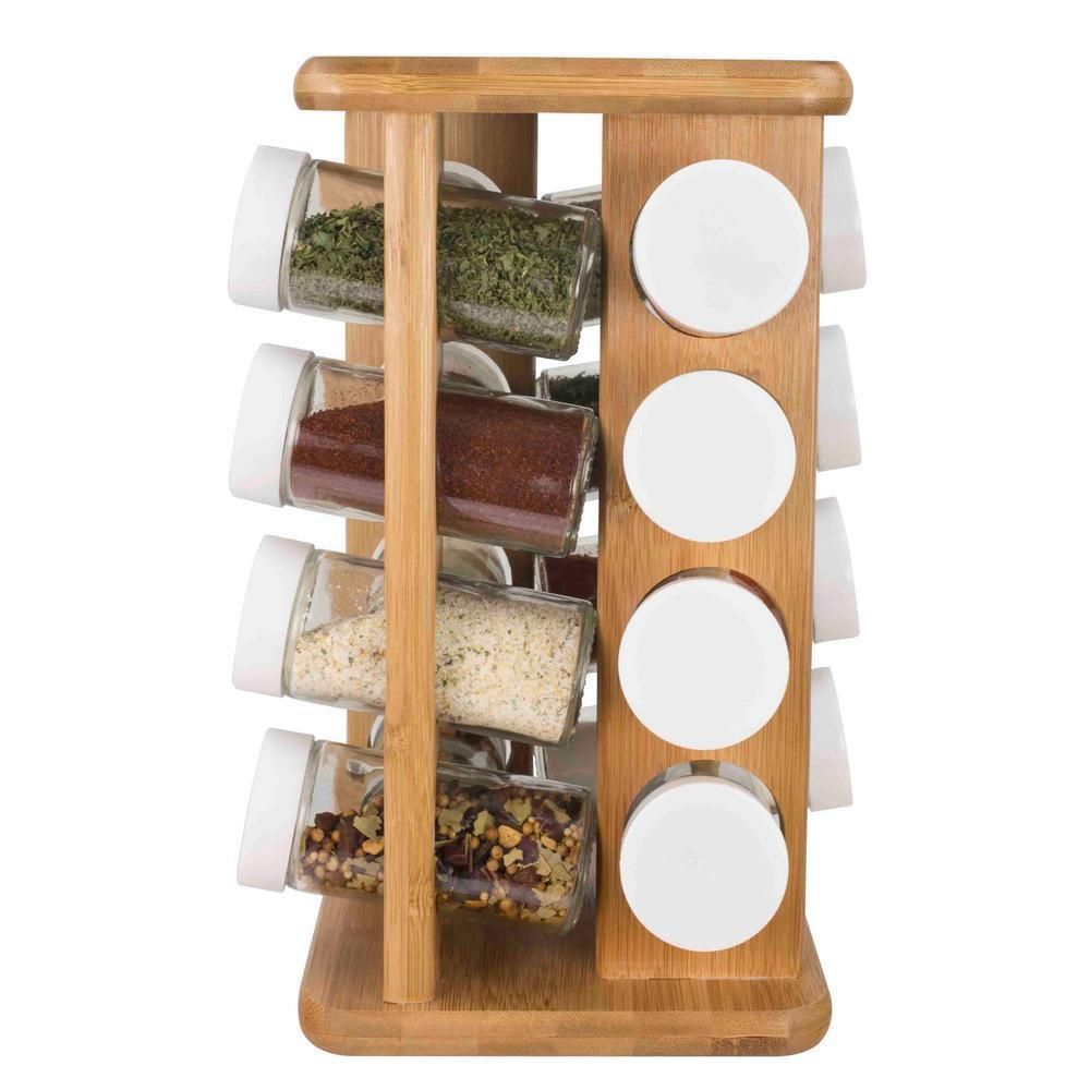 Luxury Spice Rack With Jars
