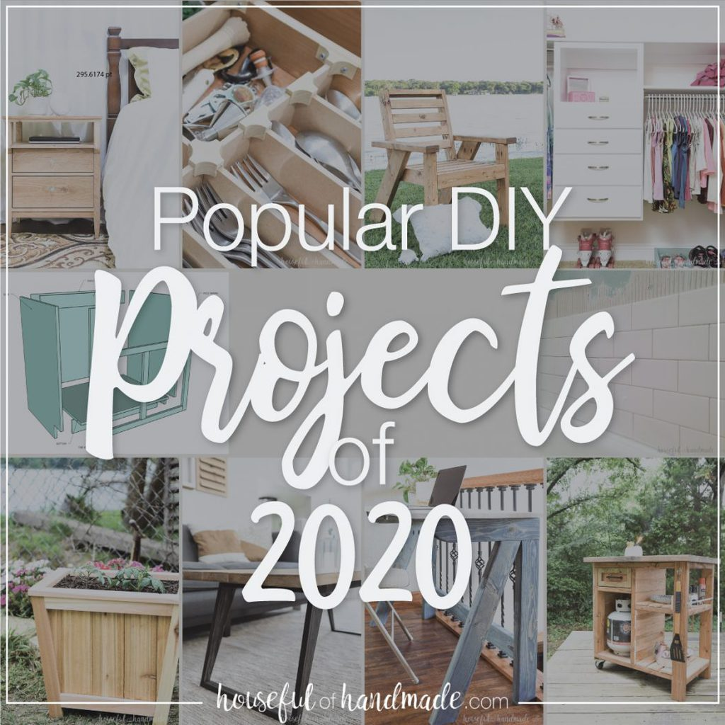 Take a look at the most popular DIY projects from the past year!