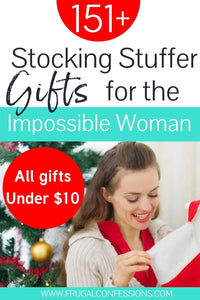 151+ awesome stocking stuffers for women (did I mention they're ALL under $10?)