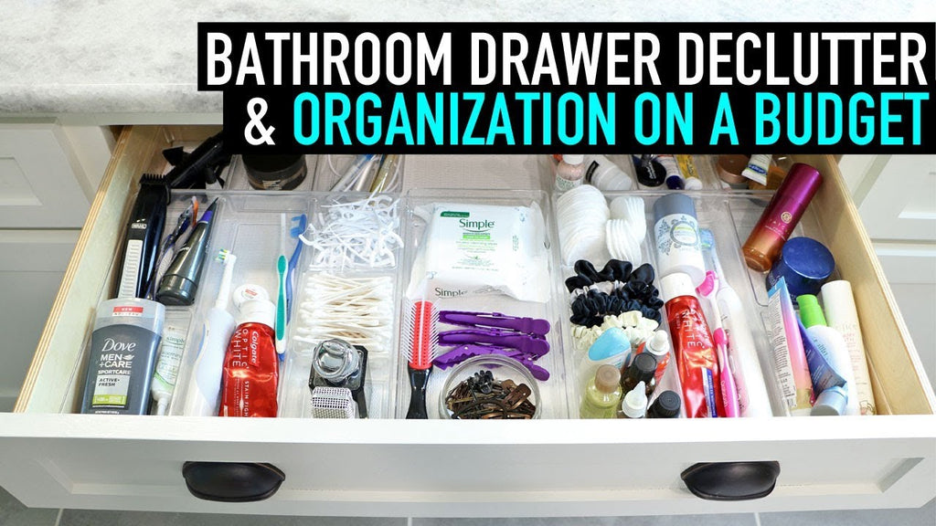 I'm kicking off a new series Spring Declutter & Get Organized! Starting with How to Organize Bathroom Drawers on a Budget