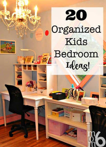 How many of you are frustrated with your ability to get organized in your kids' bedrooms? It seems as if the amount of clothing, accessories, books, and toys they accumulate far surpasses our ability to keep up with all of it! And without clear...