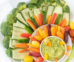 Veggie Turkey Platter