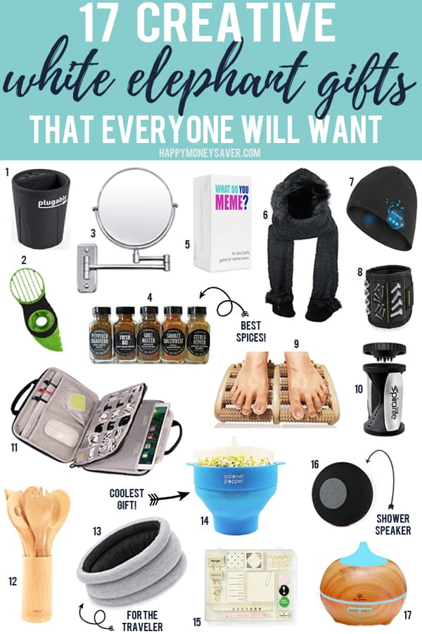 17 Creative White Elephant Gifts That Everyone Will Want!