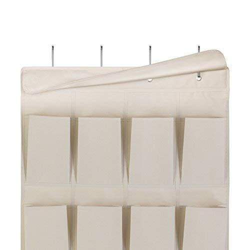 Save mindspace over the door shoe organizer rack hanging shoe organizer for closet for closet organization laundry room pantry bathroom organizer