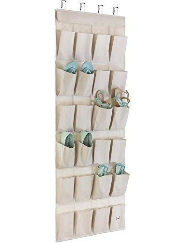 Save on mindspace over the door shoe organizer rack hanging shoe organizer for closet for closet organization laundry room pantry bathroom organizer