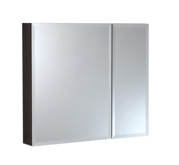 Get b c 30x26 aluminum medicine cabinet with mirror color black bathroom mirror cabinet with adjustable glass shelves storage cabinet for bathroom recessed or surface mounting