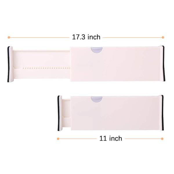 Purchase 4 drawer organizer and dividers organize silverware and utensils in home kitchen divider for clothes in bedroom dresser designed to not snag underwear and bra fabrics bathroom storage organizers