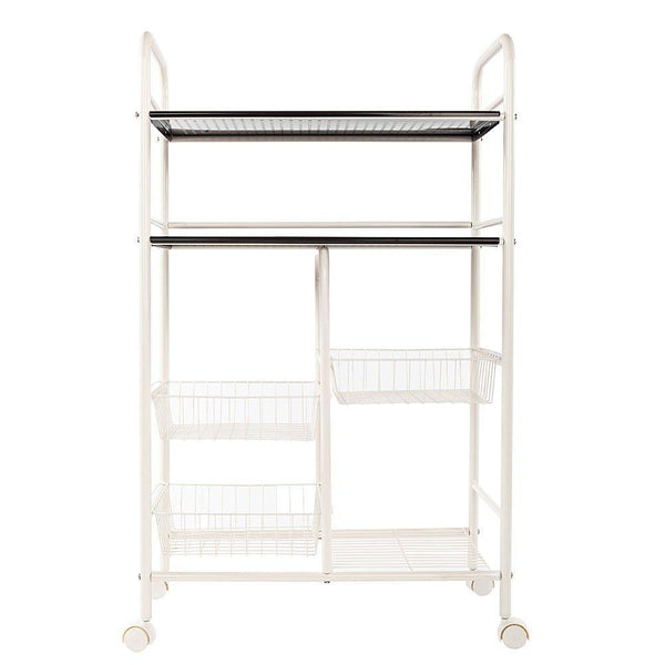 Shop for wire shelve rack shelf adjustable cabinet closet unity cart garage storage for pots pans wine dishes storage organizer bathroom bedroom kitchen white 6 lattices