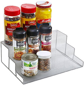 "Ybm Home 3 Tier Spice Rack Step Shelf Organizer Size 11.75""Lx 8.25""Wx 4""H #2317 (1)"