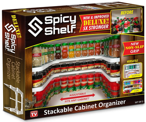 The Spicy Shelf Deluxe (1 set of 2 shelves)