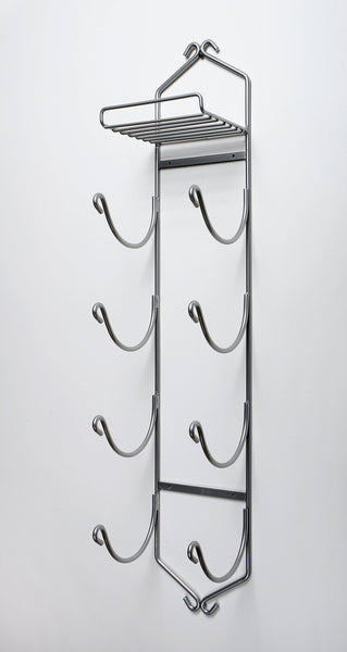 Get sparkling collectibles 38 wall mounted 4 arm shelf chrome towel rack towel holder bathroom towel bathroom storage chrome 4 arm shelf made in the u s a