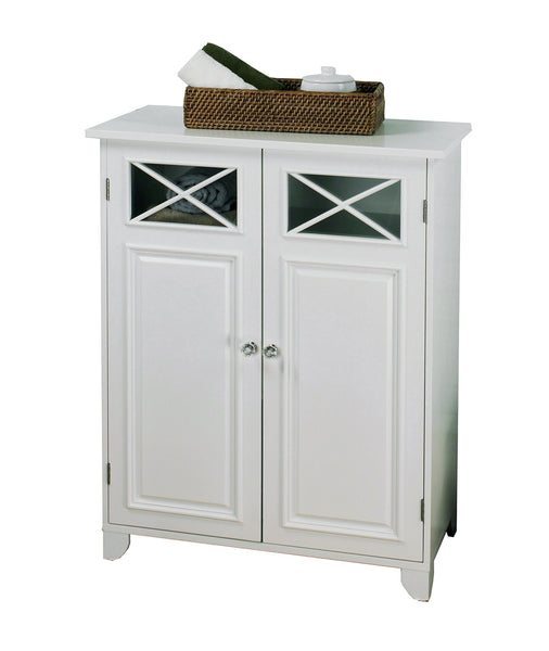 Kitchen elegant home fashions 6841 dawson bathroom cabinet white
