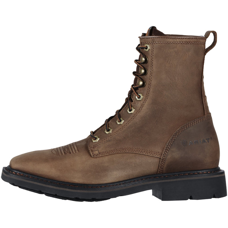 "Men's Cascade 8"" Lace-Up Work Boots"