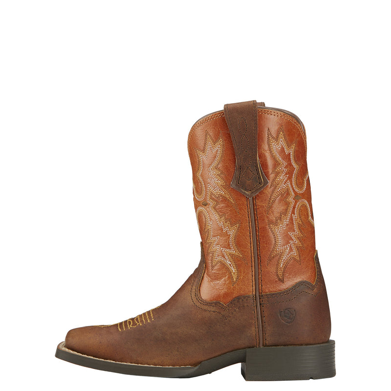 Kid's Tombstone Boots - Peddler Brown / Sunnyside