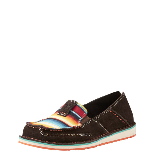 Women's Chocolate Fudge with Serape Cruiser