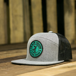 Jack Circle  Teal and Black