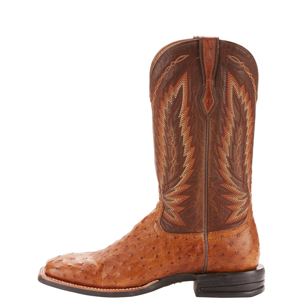 Men's Relentless Full Quill Ostrich Boots