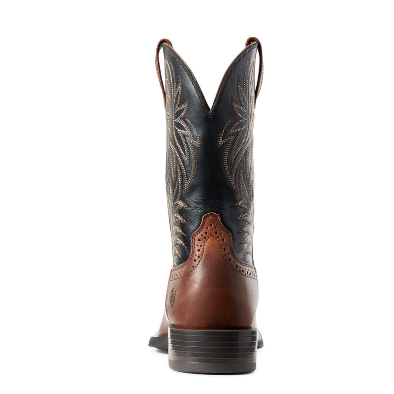 Men's Sport Western West Cognac Candy/Black