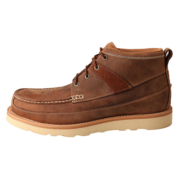 Men's Work 4″ Steel Toe Wedge Sole Boot