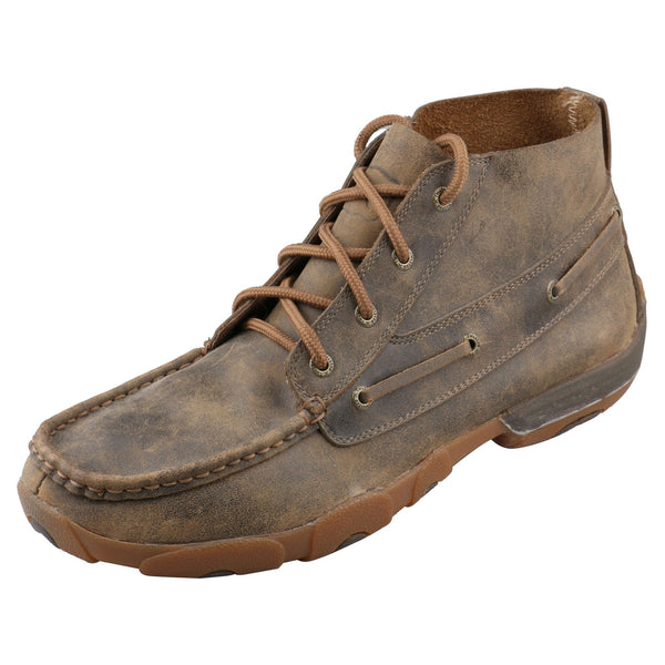 Men's Lace-Up Chukka Driving Moc