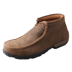 Men's Work Steel Toe Chukka Driving Moc