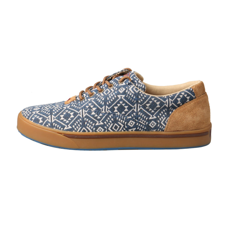 Men's Hooey Loper - Navy White Print
