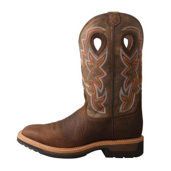 Men's Alloy Toe Lite Western Work Boot