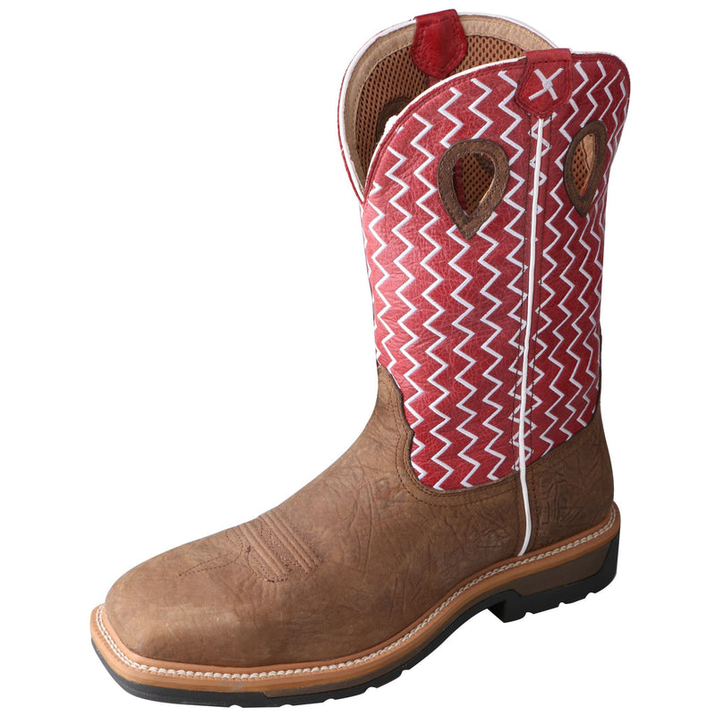 Men's Lite Western Work Boot - Soft Toe