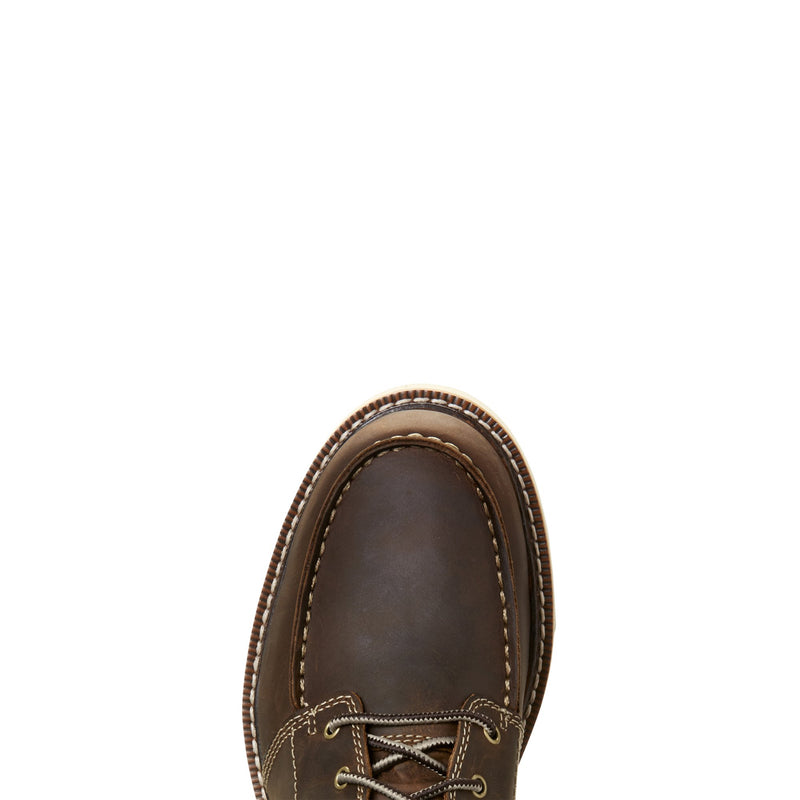 Men's Recon 6 inch Brown Lace-up Wedge Sole