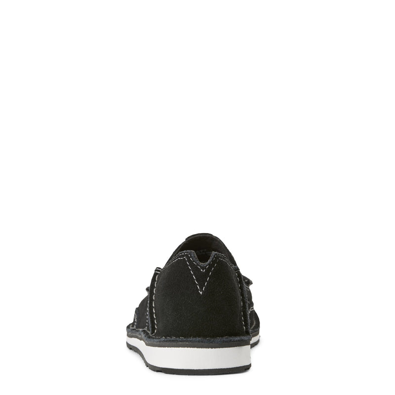 Women's Black Suede Cruiser Shoes