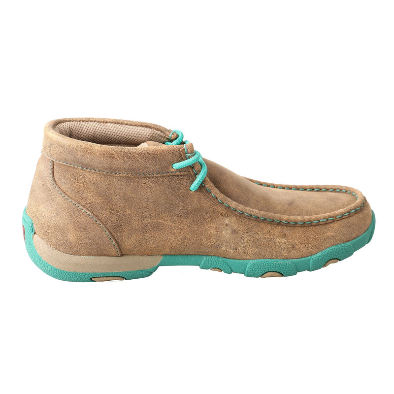 Women's Chukka Driving Moc - Turquoise