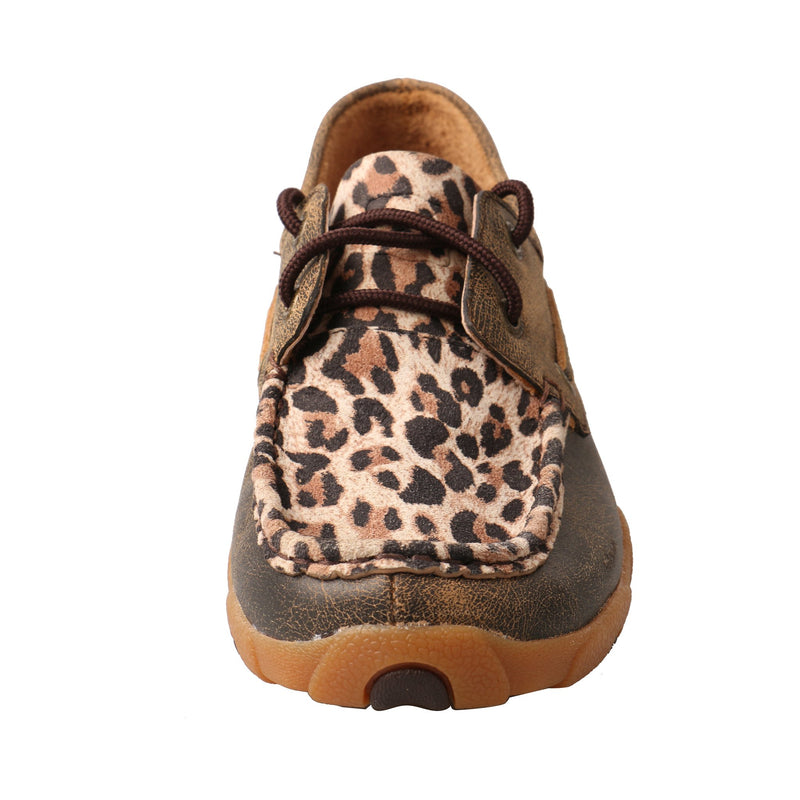 Women's Boat Shoe Driving Moc - Leopard