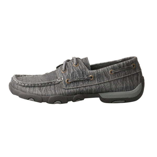 Women's Boat Shoe Driving Moc - Charcoal