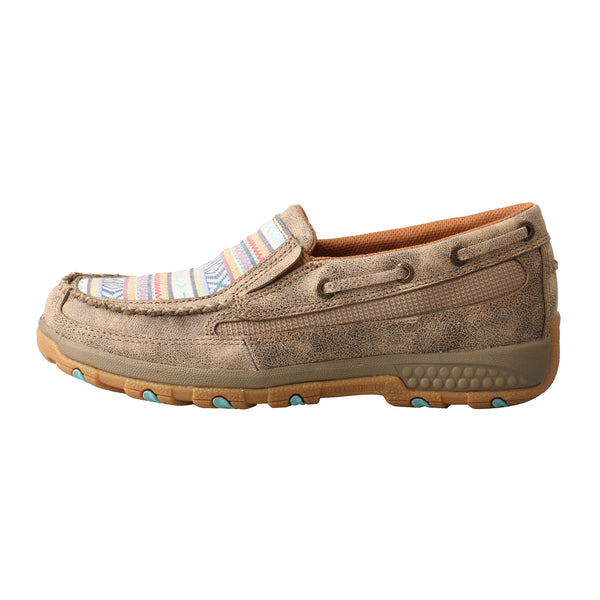 Women's Boat Shoe Driving Moc with CellStretch® - Pastel Multi