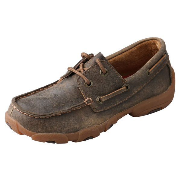 Kid's Boat Shoe Driving Moc