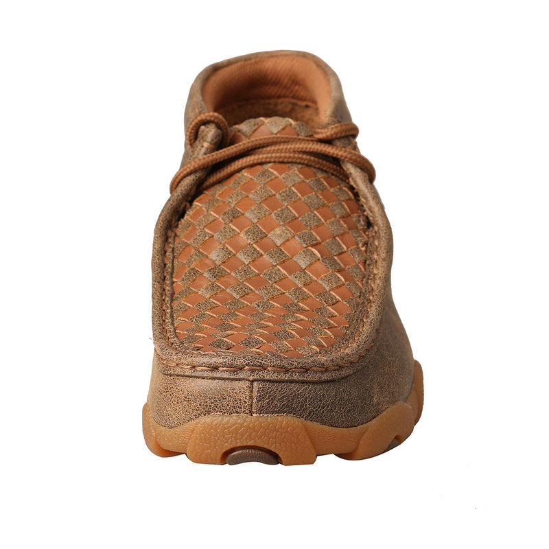 Kid's Chukka Driving Moc - Basketweave