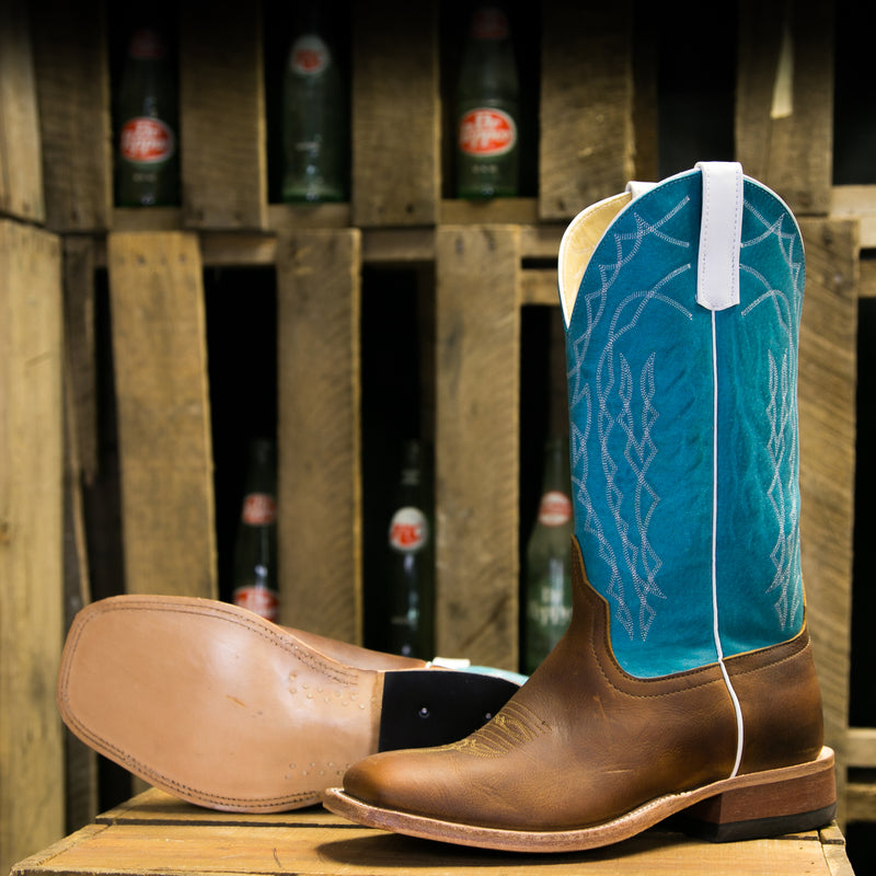 Men's Briar with Turquoise Sensation Top